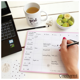 Familieplanner A4