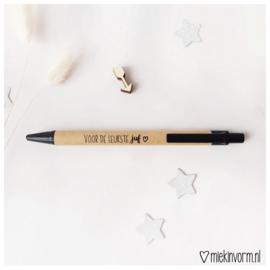 Pen || voor de leukste juf
