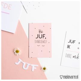 Hé Juf, dankjewel! || Mini-kaart