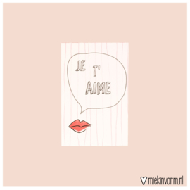 Je t'aime  || Mini-kaart