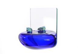 Blown Glass bubble shelf