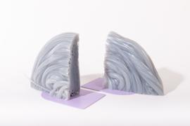 Rainbow Bookend set - Transparent Lilac - no. 4