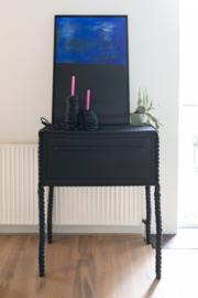 Black Spaghetti - Candle Holder - Regular