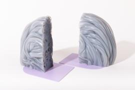 Rainbow Bookend set - Transparent Lilac - no. 14
