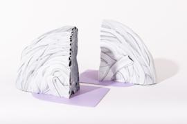 Rainbow Bookend set - Transparent Lilac - no. 2