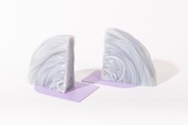 Rainbow Bookend set - Transparent Lilac - no. 16