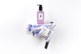 Opaque White & Purple stripe no. 1 | Special