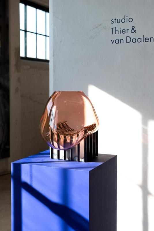 Embrace - Coral Pink Vase