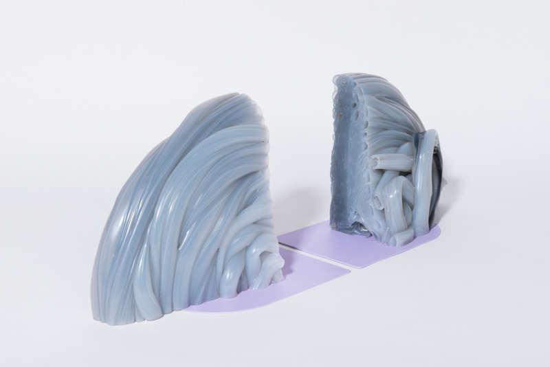 Rainbow Bookends  - Transparant Lilac
