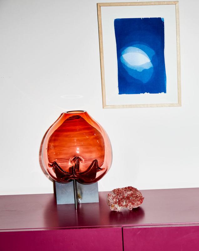Pierced | Coral Vase