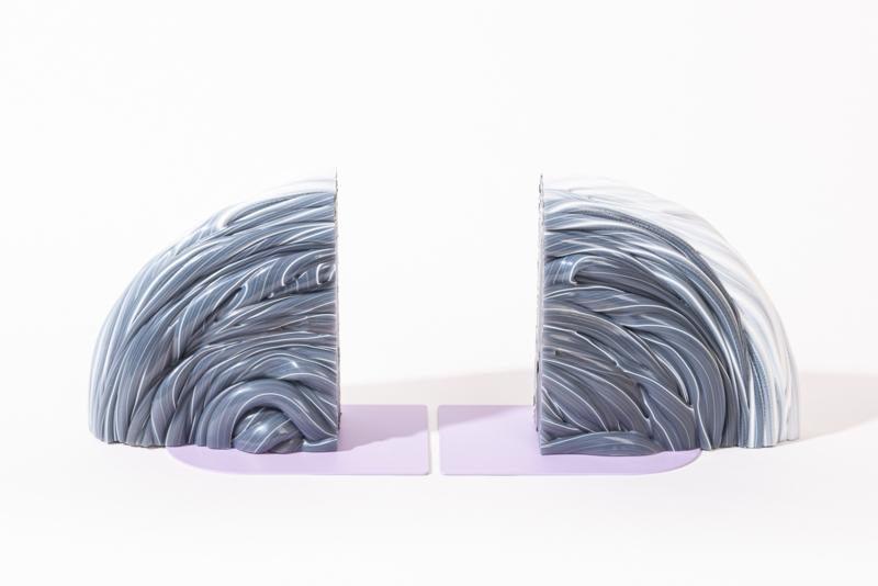 Rainbow Bookend - Transparent Lilac - no. 12