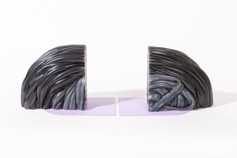 Rainbow Bookend set - Transparent Lilac - no. 13