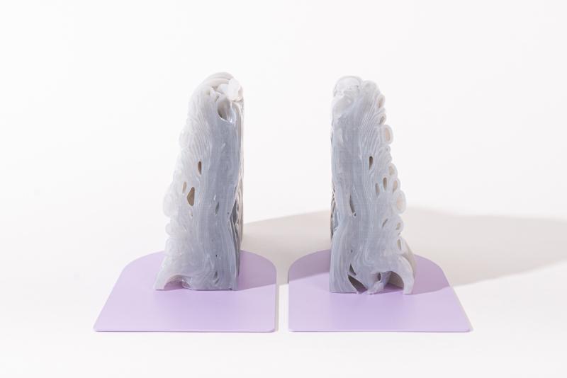 Rainbow Bookend set - Transparent Lilac - no. 15