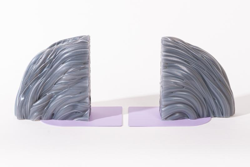 Rainbow Bookend set - Transparent Lilac - no. 3