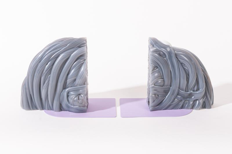 Rainbow Bookend - Transparent Lilac - no. 1