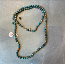 Ketting African Turquoise XL