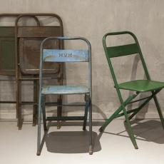 Vintage klapstoel