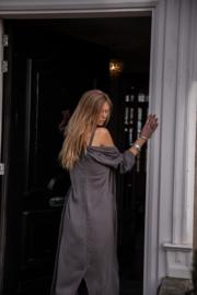 Amora vest washed grey