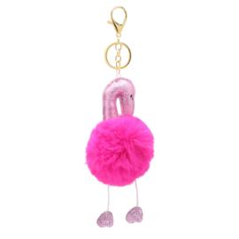 Sleutelhanger hard roze