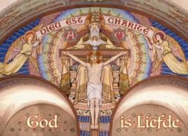 Gebedskaarten Alpha - 'God is liefde'