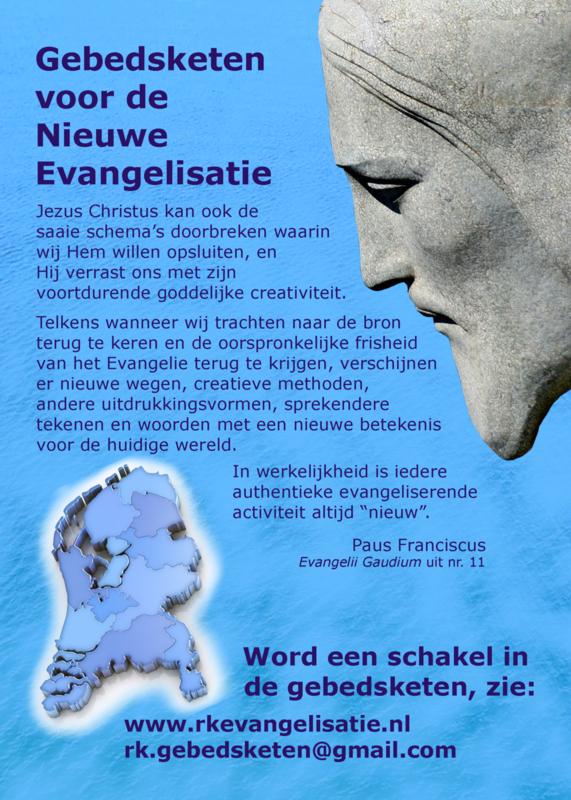 Gebedskaarten 'Nieuwe Evangelisatie en parochievernieuwing'