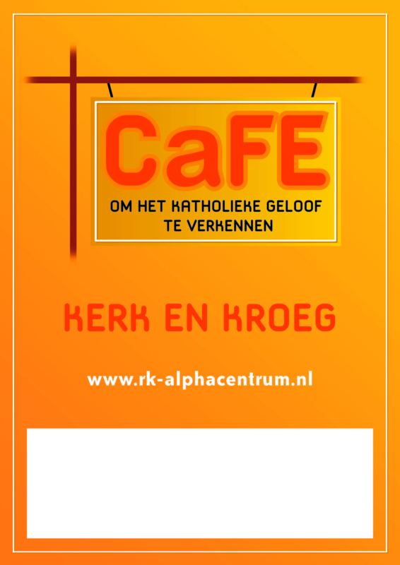CaFE - set promotiemateriaal