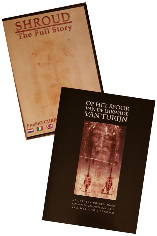 De lijkwade - Dvd 'Shroud' en boek