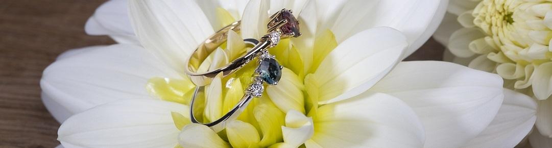 Verlovingsringen bloem