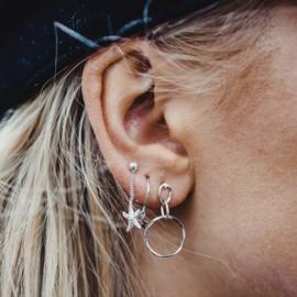 Hanging circles - echt zilver