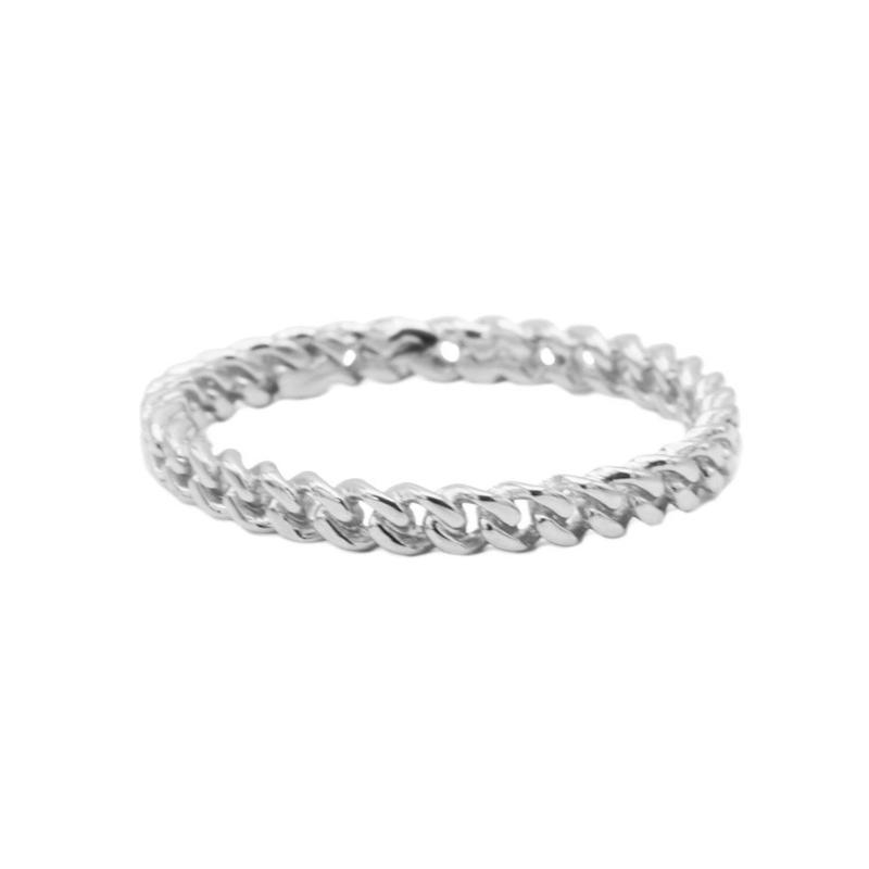 Ring chain - echt zilver