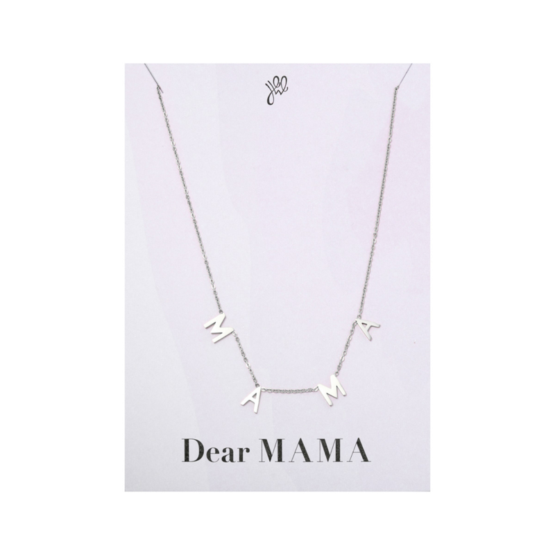 MAMA letter ketting