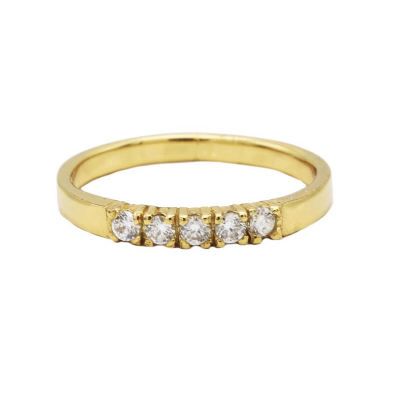 Ring bling - echt zilver