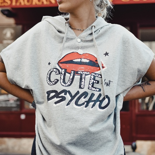 Cute but Psycho Hoodie