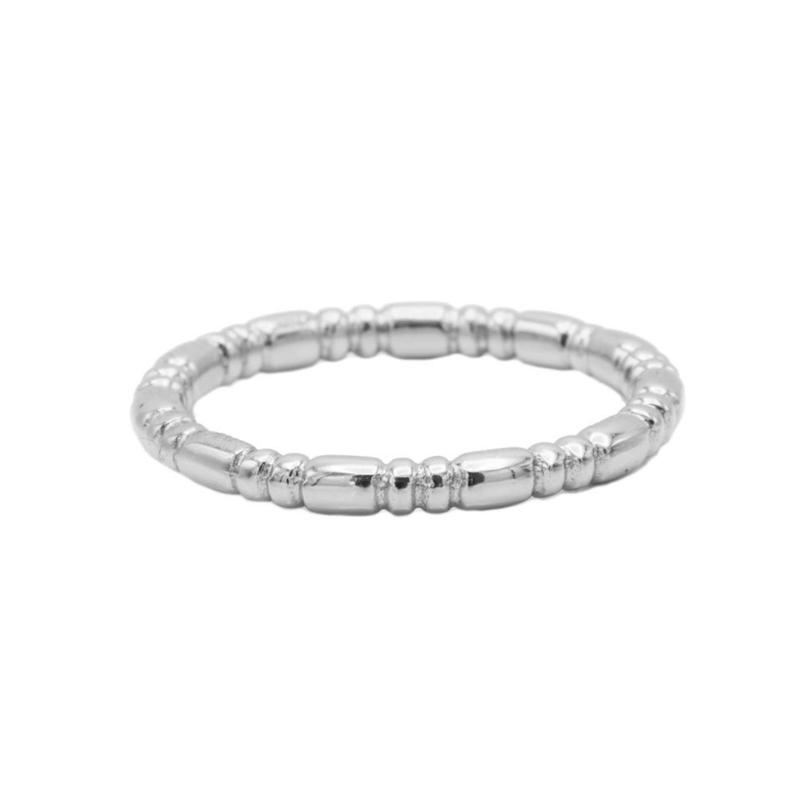 Ring basic - echt zilver