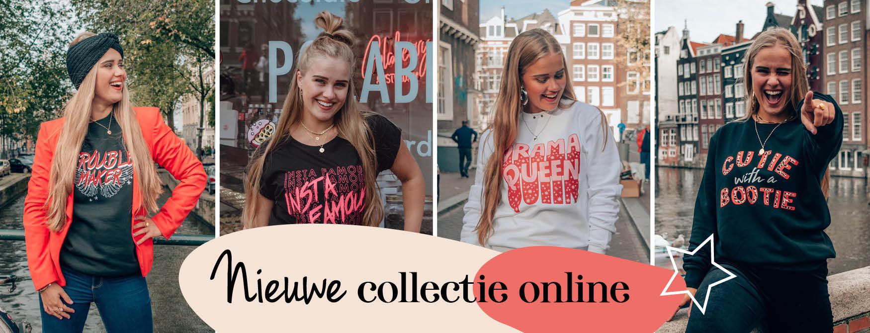 Nieuwe collectie shirts en sweaters