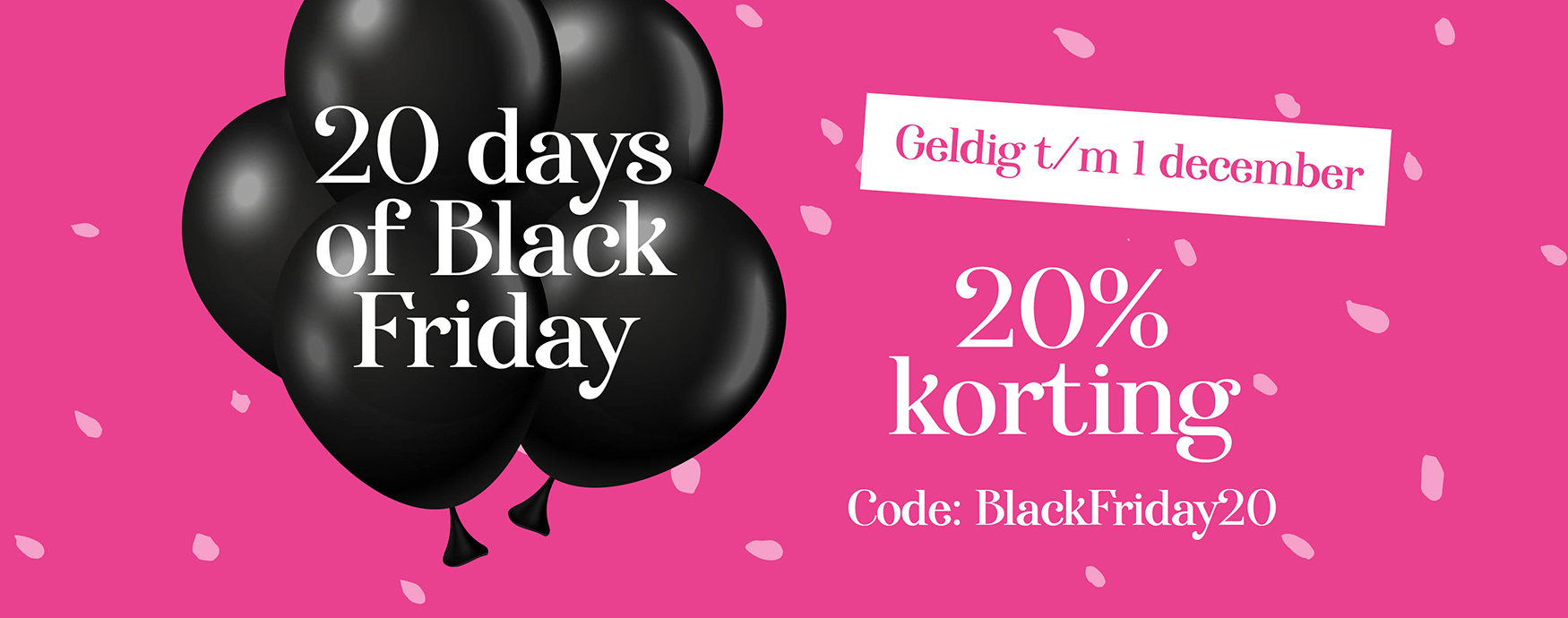 Black friday by daisies
