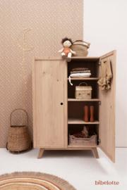 Behang Bloemenzee mini - mosterdbruin