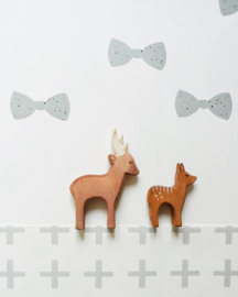 Wallstickers Bow mint