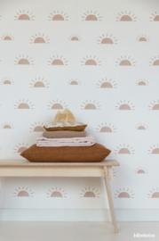 Wallpaper Sunrise - pink
