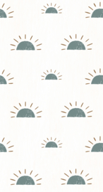 Wallpaper Sunrise - blue