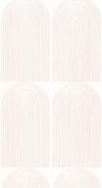 Wallpaper Rainbow - pink