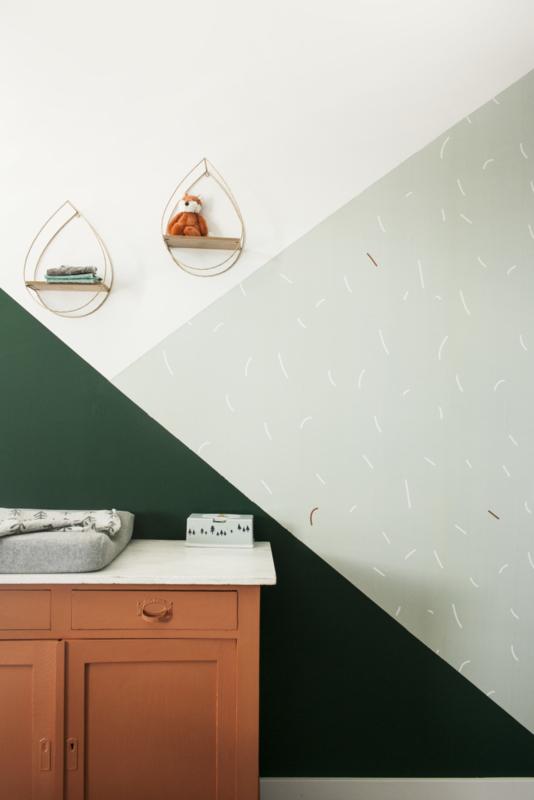 Wallpaper Sprinkles - sea green