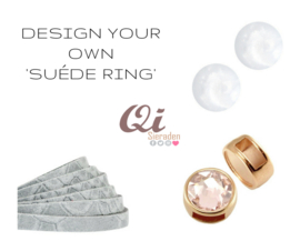 Design your own suéde ring!