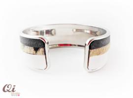 Armband 'white stripe'