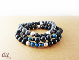Men's bracelet combo 'royal blue'