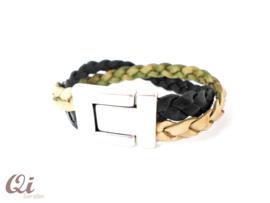Armband moss/ black