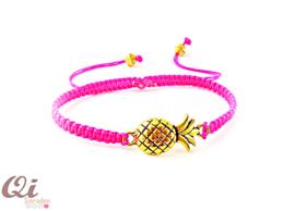 Armbandje 'pineapple pink'