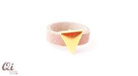 Ring 'gold triangle'