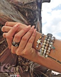 Armband 'marble'