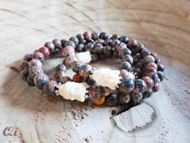 Armband 'jasper stone'